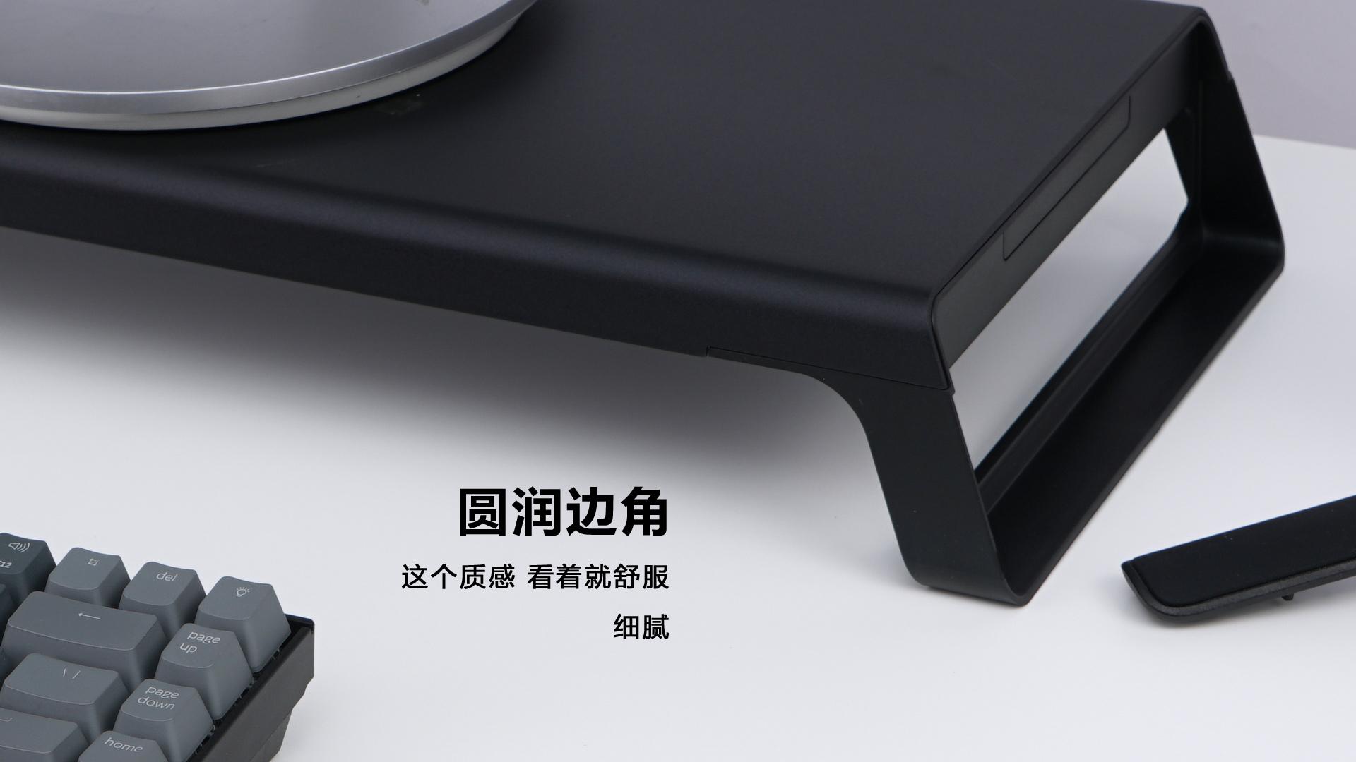 在淘宝上买的铝合金支架 解决桌面收纳问题 看完你有什么想法  图片 科技 评测 orico 设计 第7张